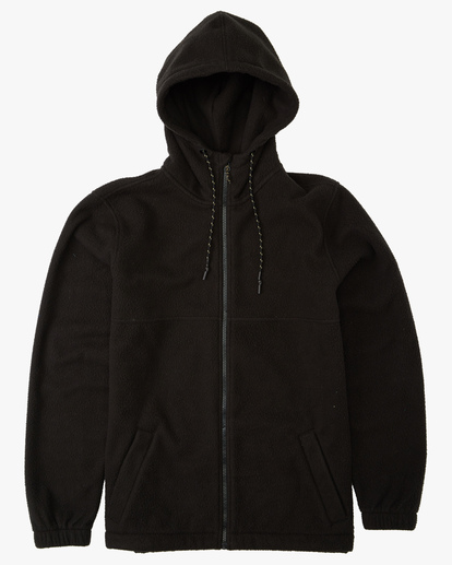 0 A/Div Boundary Zip-Up Sherpa Hoodie Black ABYFT00185 Billabong