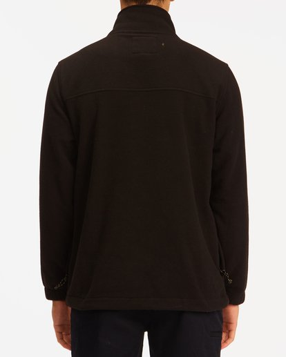 2 A/Div Canyon Graphene Zip-Up Fleece Black ABYFT00186 Billabong