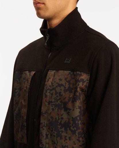 3 A/Div Canyon Graphene Zip-Up Fleece Black ABYFT00186 Billabong