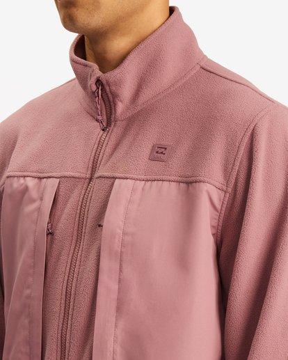 4 A/Div Canyon Graphene Zip-Up Fleece Grey ABYFT00186 Billabong