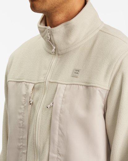3 A/Div Canyon Graphene Zip-Up Fleece Beige ABYFT00186 Billabong
