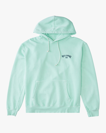 5 Arch Wave Washed Pullover Hoodie Green ABYFT00195 Billabong