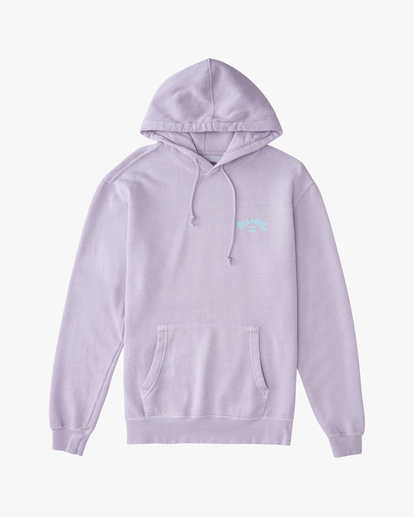 5 Arch Wave Washed Pullover Hoodie Purple ABYFT00195 Billabong