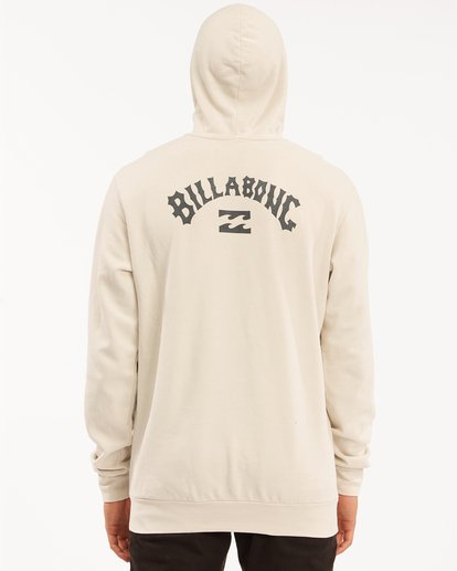 2 Arch Wave Washed Pullover Hoodie Red ABYFT00195 Billabong