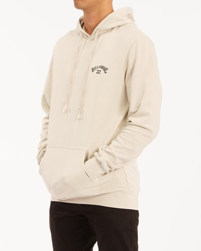 1 Arch Wave Washed Pullover Hoodie Red ABYFT00195 Billabong