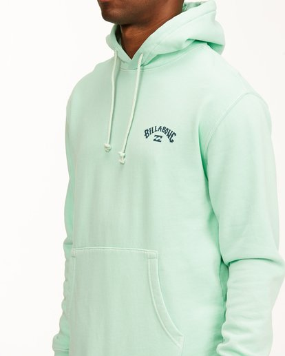 4 Arch Wave Washed Pullover Hoodie Green ABYFT00195 Billabong