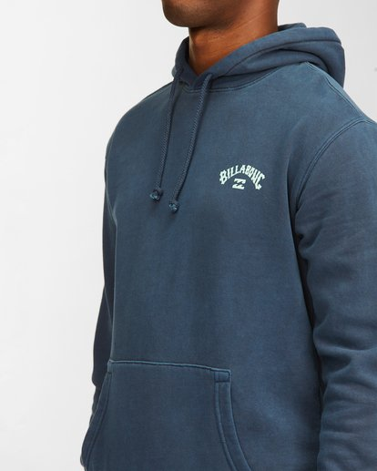 4 Arch Wave Washed Pullover Hoodie Blue ABYFT00195 Billabong