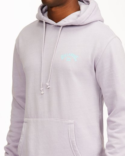 4 Arch Wave Washed Pullover Hoodie Purple ABYFT00195 Billabong