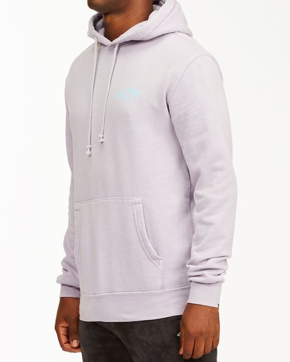 1 Arch Wave Washed Pullover Hoodie Purple ABYFT00195 Billabong