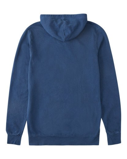 1 Surf Supply Wave Washed Pullover Hoodie Blue ABYFT00196 Billabong