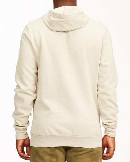2 Surf Supply Wave Washed Pullover Hoodie Red ABYFT00196 Billabong