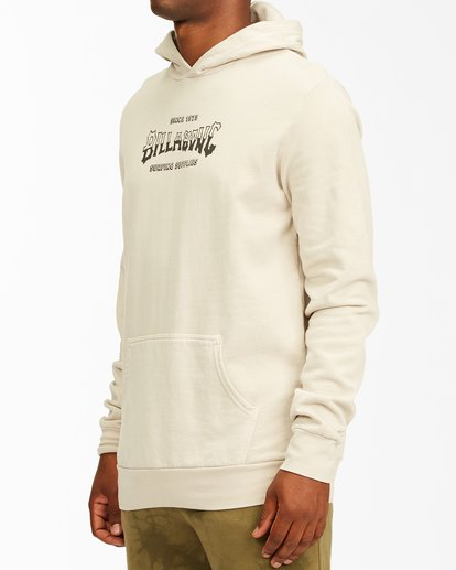 1 Surf Supply Wave Washed Pullover Hoodie Red ABYFT00196 Billabong