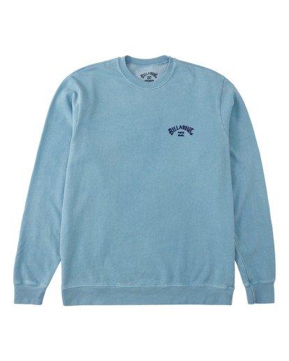 5 Arch Wave Washed Crew Neck Sweatshirt Purple ABYFT00199 Billabong