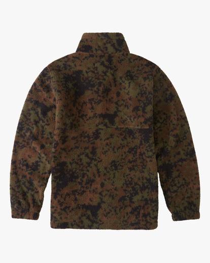 5 A/Div Boundary Half-Zip Mock Neck Fleece Black ABYFT00205 Billabong