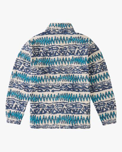 5 A/Div Boundary Half-Zip Mock Neck Fleece Multicolor ABYFT00205 Billabong
