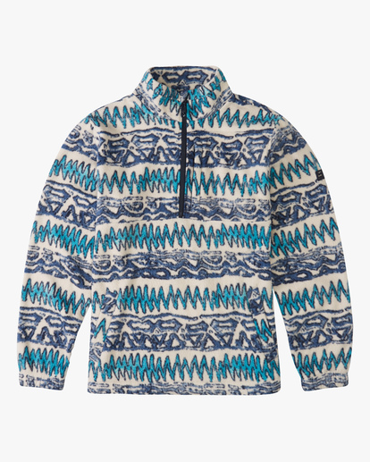 4 A/Div Boundary Half-Zip Mock Neck Fleece Multicolor ABYFT00205 Billabong
