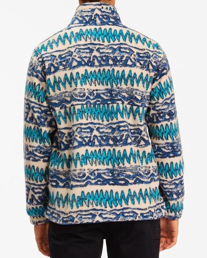 2 A/Div Boundary Half-Zip Mock Neck Fleece Multicolor ABYFT00205 Billabong
