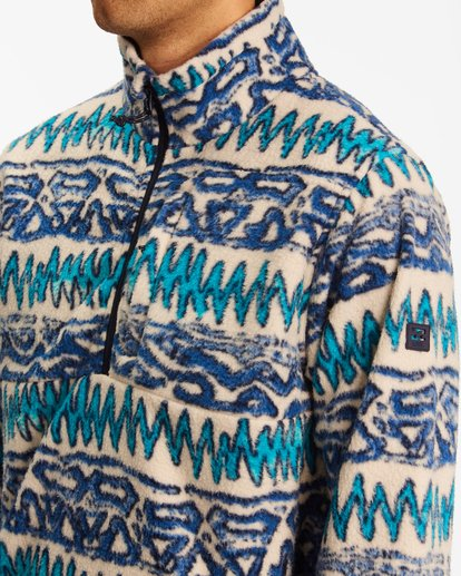 3 A/Div Boundary Half-Zip Mock Neck Fleece Multicolor ABYFT00205 Billabong