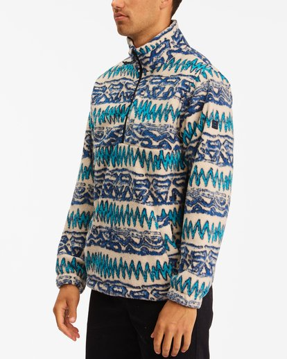 1 A/Div Boundary Half-Zip Mock Neck Fleece Multicolor ABYFT00205 Billabong