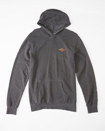 4 Wave Washed Unity Pullover Hoodie Black ABYFT00237 Billabong