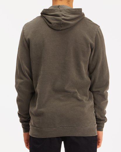 3 Wave Washed Unity Pullover Hoodie Black ABYFT00237 Billabong