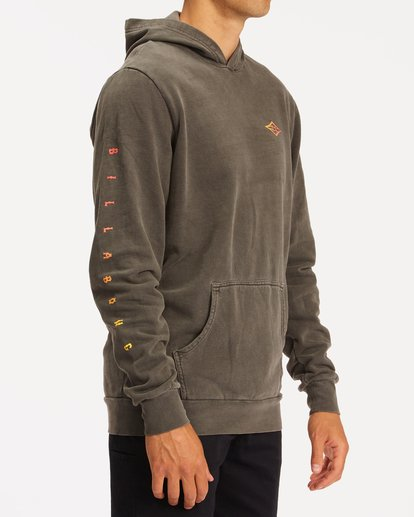 2 Wave Washed Unity Pullover Hoodie Black ABYFT00237 Billabong