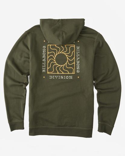9 A/Div Sunburn Pullover Hoodie Brown ABYFT00273 Billabong