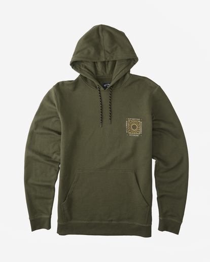 8 A/Div Sunburn Pullover Hoodie Brown ABYFT00273 Billabong