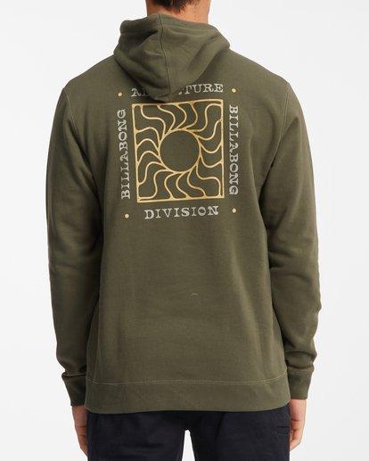 5 A/Div Sunburn Pullover Hoodie Brown ABYFT00273 Billabong