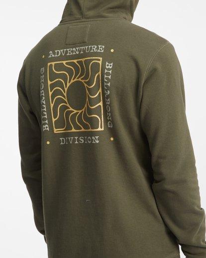 7 A/Div Sunburn Pullover Hoodie Brown ABYFT00273 Billabong