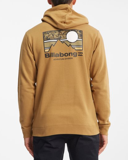 3 A/Div Captain Pullover Hoodie White ABYFT00274 Billabong