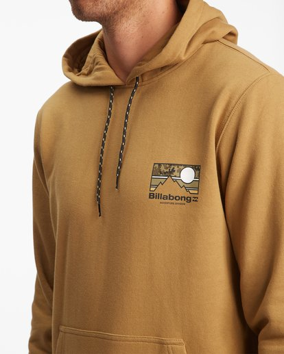 4 A/Div Captain Pullover Hoodie White ABYFT00274 Billabong