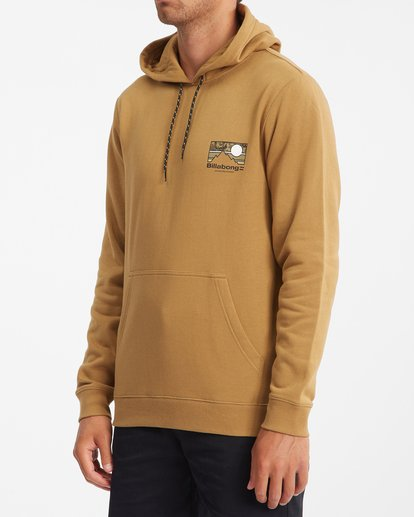 1 A/Div Captain Pullover Hoodie White ABYFT00274 Billabong