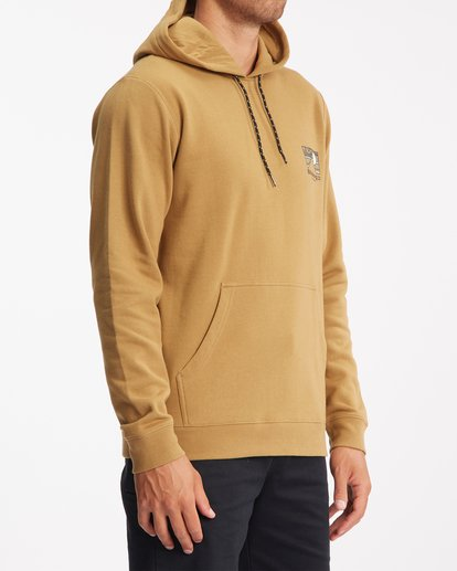 2 A/Div Captain Pullover Hoodie White ABYFT00274 Billabong
