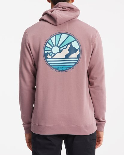 3 A/Div Rockies Pullover Hoodie Grey ABYFT00275 Billabong