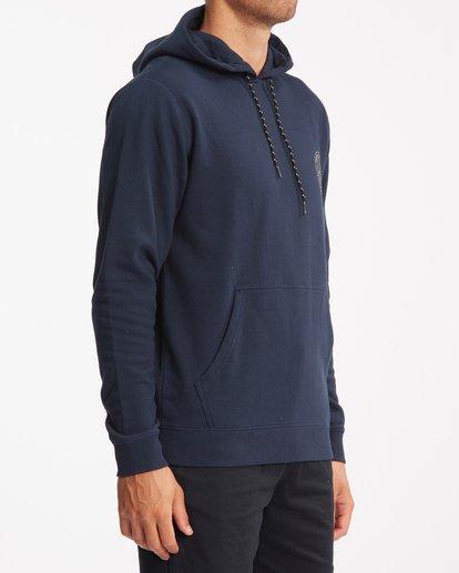 2 A/Div Night Pullover Hoodie Blue ABYFT00278 Billabong
