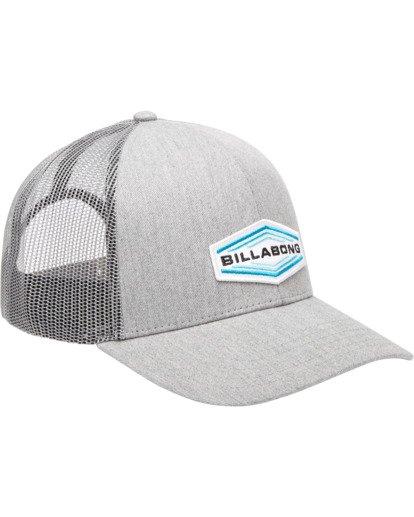 2 Walled Trucker Hat Grey ABYHA00101 Billabong