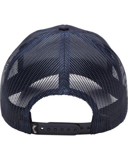 3 Walled Trucker Hat Blue ABYHA00101 Billabong