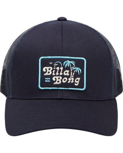1 Walled Trucker Hat Blue ABYHA00101 Billabong