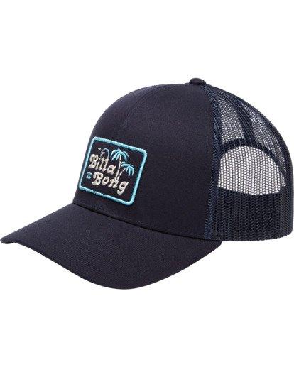 0 Walled Trucker Hat Blue ABYHA00101 Billabong
