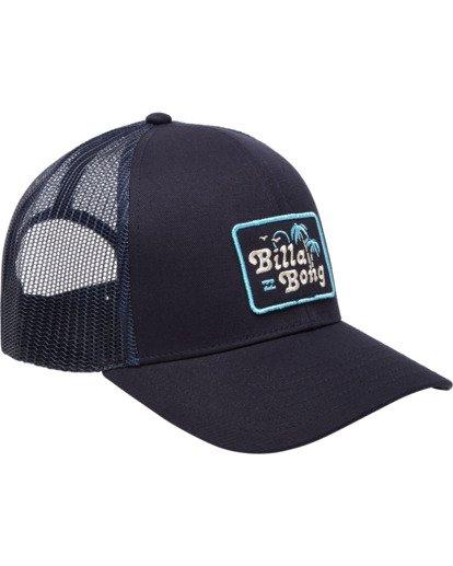 2 Walled Trucker Hat Blue ABYHA00101 Billabong