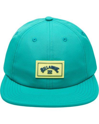 1 Nollie Strapback Hat Blue ABYHA00103 Billabong