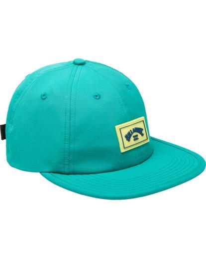 2 Nollie Strapback Hat Blue ABYHA00103 Billabong