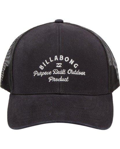 1 Walled Adiv Trucker Hat Black ABYHA00107 Billabong