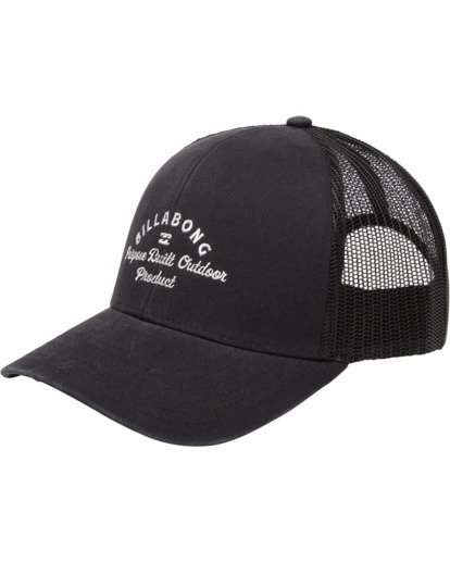 0 Walled Adiv Trucker Hat Black ABYHA00107 Billabong