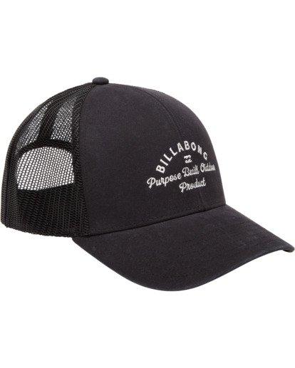 2 Walled Adiv Trucker Hat Black ABYHA00107 Billabong