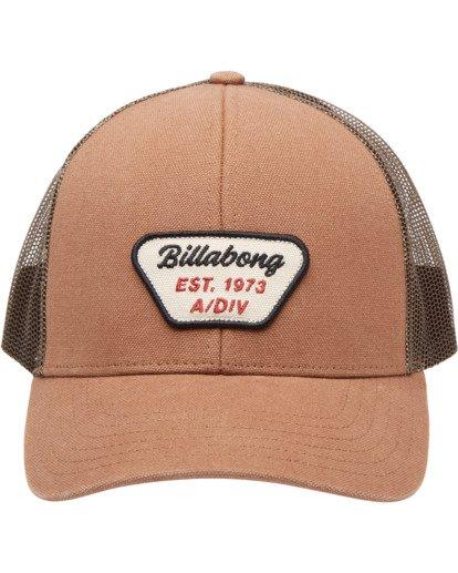 1 Walled Adiv Trucker Hat Brown ABYHA00107 Billabong