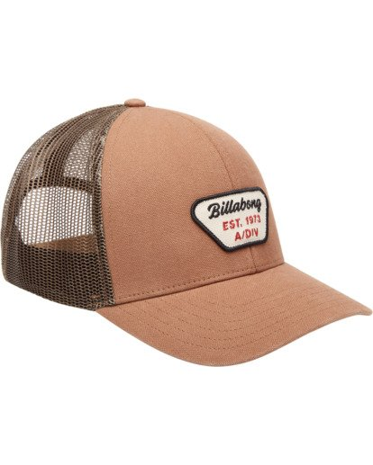 2 Walled Adiv Trucker Hat Brown ABYHA00107 Billabong