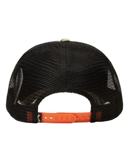 3 Podium Trucker Hat Green ABYHA00113 Billabong