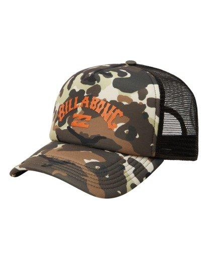 1 Podium Trucker Hat Green ABYHA00113 Billabong